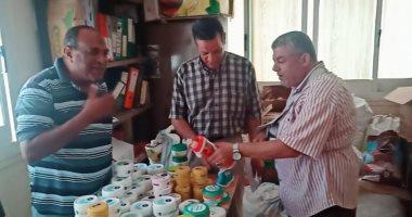 ضبط مخالفات تموينية ومستحضرات تجميل منتهية الصلاحية خلال حملة بمطروح