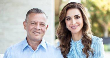 """""""محظوظة بقربك"""".. شاهد كيف احتفلت الملكة رانيا بعيد زواجها من ملك الأردن"""