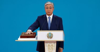 صور.. توكاييف يؤدى اليمين الدستورية رئيسا لكازاخستان