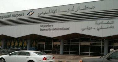 الصور الأولية بعد استهداف الحوثيين لمطار أبها الدولى فجر اليوم