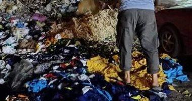 صور.. القمامة تحاصر أهالى سكان شارع قسم أول المحلة بالغربية