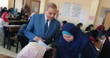 صور.. رئيس جامعة الأزهر يشيد بانضباط  كلية الدراسات الإسلامية بالإسكندرية