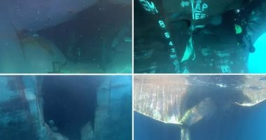20 صورة تلخص ضرب ناقلتى نفط بطوربيد فى خليج عمان