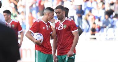 بوطيب على مقاعد بدلاء المغرب فى اللقاء الودى أمام زامبيا