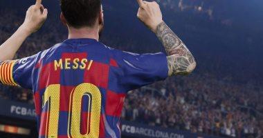 ميسي  يتصدر غلاف لعبة PES 2020 المقبلة -