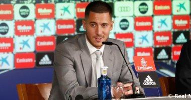هازارد: جاهز للعب بأى مركز فى ريال مدريد وتحقيق الألقاب أهم من الكرة الذهبية