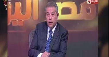 توفيق عكاشة: قنوات الإخوان السبعة تؤجج الأوضاع فى السودان