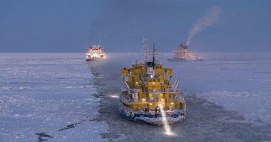 فيديو.. جولة سياحية على متن أكبر كاسحة جليد إلى القطب الشمالى