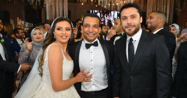 الحضرى والصقر وفتحى وشوبيروشلتوت فى حفل زفاف ابنه أحمد سليمان