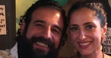 حنان مطاوع تحتفل بعيد ميلاد زوجها: كل سنة وانت سندى