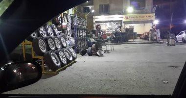 شكوى من تعديات المحلات بشوارع الحى السويسرى بمدينة نصر