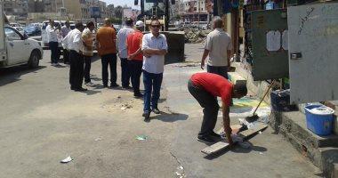 """رئيس حى المناخ ببورسعيد: تخصيص باكيات بسوق """"الرضوان"""" للباعة الجائلين"""