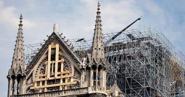 ما لا يحرق بالنار يموت من الحر.. كنيسة نوتردام تصارع الحياة فى باريس