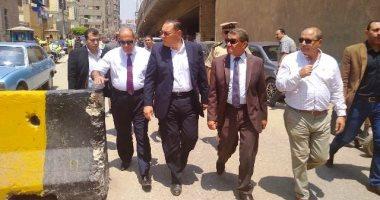 محافظ الشرقية ومدير الأمن يتفقدان شوارع الزقازيق ويشددان على إزالة الاشغالات