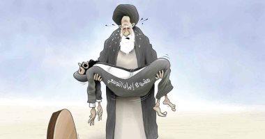 كاريكاتير الصحف الإماراتية.. خامنئى يتحسر على فشل مخططات إيران التوسعية