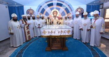 البابا تواضروس يدشن مذابح كنيسة العذراء الوجوه بشبرا