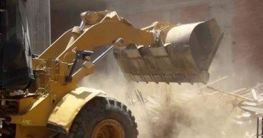 إيقاف أعمال بناء مخالف بالمعصرة وحملة لتجميل كورنيش النيل