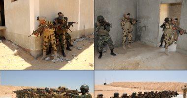 جانب من فعاليات التدريب المشترك لمكافحة الإرهاب بين عناصر من دول تجمع الساحل والصحراء