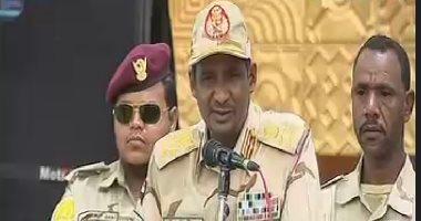نائب رئيس المجلس العسكرى فى السودان: لا أرغب فى أن أكون رئيسا للبلاد
