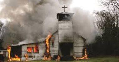 متظاهرون يضرمون النار فى كنيسة بعد اعتقال إمام مسجد بالنيجر