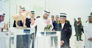 ملك ماليزيا يزور متحف اللوفر أبو ظبى بدولة الإمارات