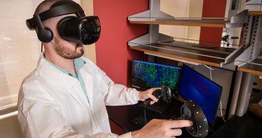 علماء يستخدمون الواقع الافتراضى للكشف عن أمراض الخلايا المعقدة