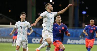 كولومبيا تكسر النحس التهديفى ضد الأرجنتين بعد 565 دقيقة.. فيديو