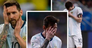 21 لقطة تكشف معاناة ميسى مع الأرجنتين فى كوبا أمريكا.. صور