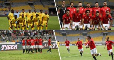 الدولى محمد عادل وإدارة تحكيمية عادلة فى ودية مصر ضد غينيا