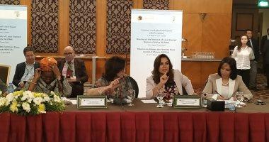 مايا مرسى: المرأة المصرية تحلم بزيادة نسبة مشاركتها فى المجالس المحلية لـ35%