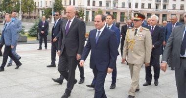 الرئيس البيلاروسى: هناك إمكانات واعدة للانطلاق إلى آفاق جديدة من علاقات التعاون مع مصر
