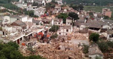 مقتل وإصابة 21 شخصًا فى زلزال بمقاطعة سيتشوان جنوب غربى الصين