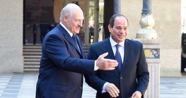 رئيس بيلاروسيا: مصر دولة صديقة وشريكا تجاريا واقتصاديا هاما بالشرق الأوسط