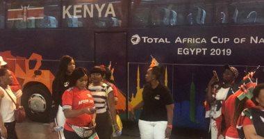 بعثة منتخب كينيا تصل مطار القاهرة للمشاركة فى كأس الأمم الأفريقية
