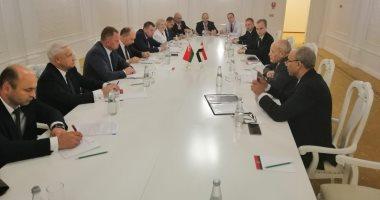 العصار يلتقى وزير صناعة بيلاروسيا وعددا من الشركات لتعميق التعاون المشترك
