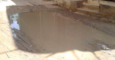 القابضة لمياه الشرب تستجيب.. إصلاح كسر الماسورة في شارع ناهيا بالجيزة