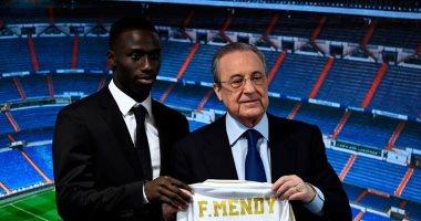شاهد مراسم تقديم ميندى لاعب ريال مدريد الجديد