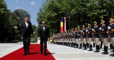 بدء مراسم استقبال الرئيس السيسى فى العاصمة الرومانية بوخارست