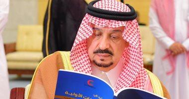 أمير الرياض يؤدى صلاة الجنازة على الأمير تركى بن عبدالله ووالدة