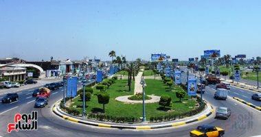 شاهد جمال شوارع الإسكندرية قبل انطلاق بطولة أمم أفريقيا فى 39 صورة