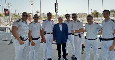 أبو ريدة: رجال الأمن يؤدون دورهم فى تأمين المنتخبات بشكل مثالى