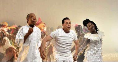 """فيديو.. """"سينرجى"""" تطرح الأغنية الرسمية لكأس الأمم الأفريقية """"متجمعين"""""""