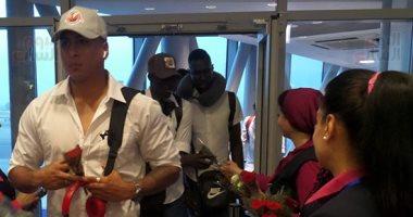 منتخب غينيا بيساو يصل القاهرة استعدادا لبطولة الأمم الأفريقية.. صور
