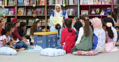 """""""كان ياما كان"""" تهدى 500 كتاب جديد لـ 3000 طفل فى المخيم الإماراتى الأردنى"""