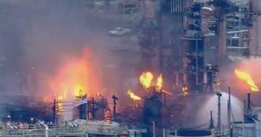 التحريات وأقوال الشهود تكشف أسباب حريق مصنع أخشاب 6 أكتوبر