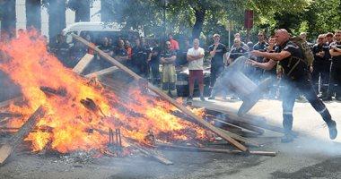 إضراب رجال الإطفاء فى بلجيكا للمطالبة بتحسين ظروف العمل