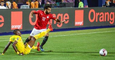 أهداف الشوط الأول من مباراة مصر والكونغو فى الأمم الأفريقية