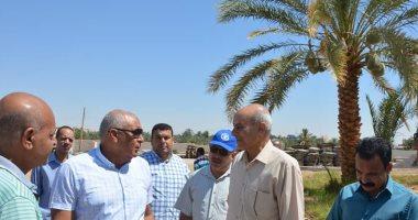 صور محافظ الوادي الجديد يتفقد أعمال تطوير مجمع تمور المحافظة