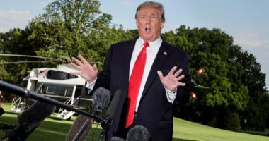 """ترامب يصف محادثة مسربة له مع أحد الزعماء بأنها """"ملائمة تماما"""""""