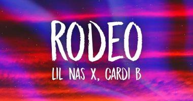 """بالصوت والكلمات.. اسمع اغنية """"كاردي بي"""" و """"ليل ناس أكس"""" الجديدة """"Rodeo"""""""